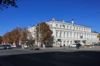 Улица Московская, 18 / Комитетская. Городская библиотека имени Пушкина