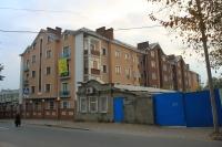 Новостройка на пересечении Пушкинской и Дубовского