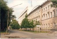 Здания училища связи на Платовском, середина 90-х