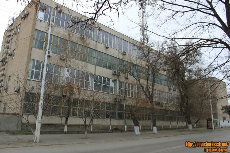 Проспект Баклановский. Узел электросвязи (ГТС)