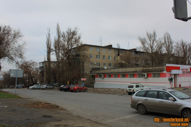 Улица Ленгника. Вид с проспекта Баклановского