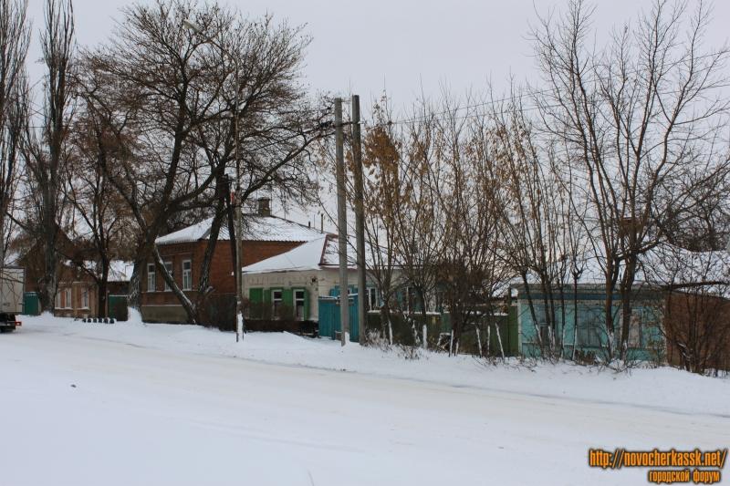 Улица Буденновская в районе переулка Мирного