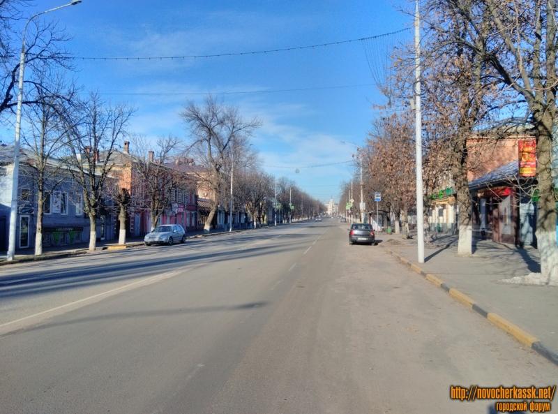 Улица Московская. Первое января