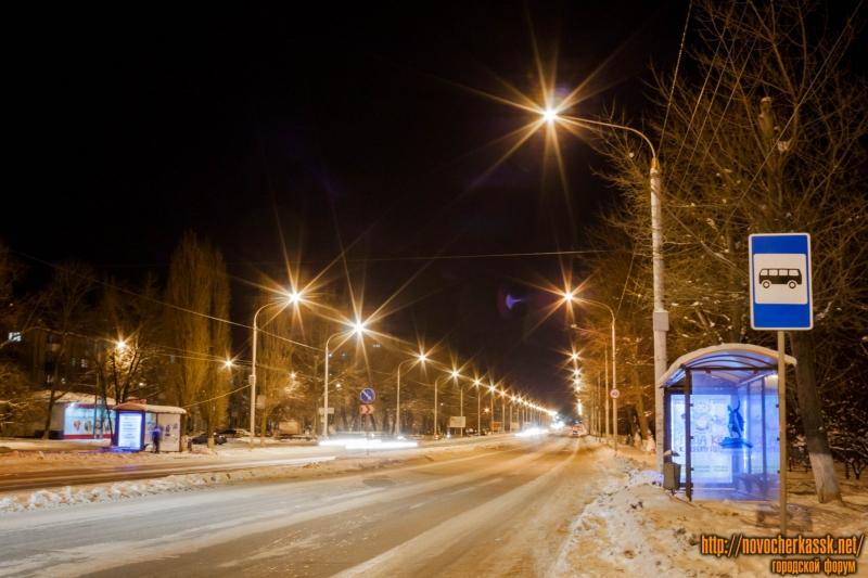 Ночной проспект Баклановский