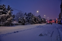 Зимний Платовский проспект