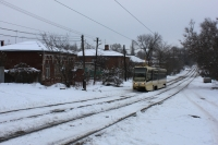 Трамвай на улице Орджоникидзе