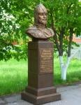 Бюст Александра Невского на территории Кадетского корпуса