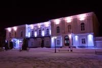 Здание Атаманского дворца с подсветкой
