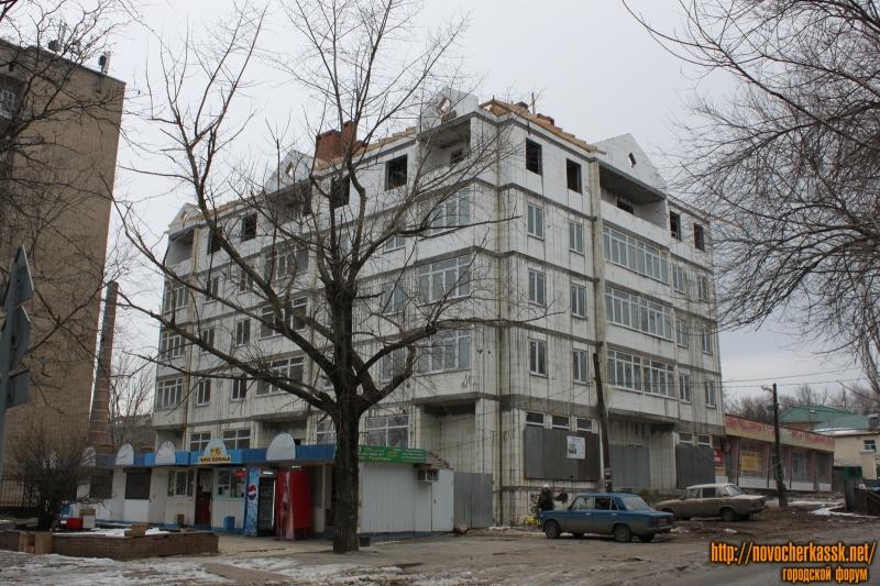 Строительство дома на улице Михайловской, 171