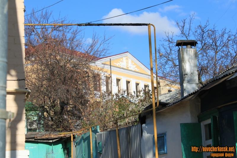 Школа №2. Вид с улицы Михайловской