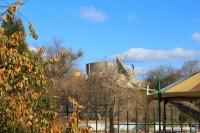 Вид на Курган в Александровском парке (без штыков)