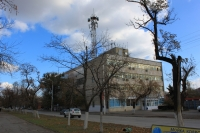 Здание узла электросвязи. Проспект Баклановский