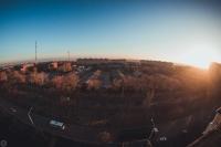 Вид на Новочеркасск с Баклановского, 100. 6 ноября 2014 года
