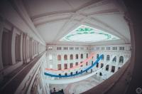 Крытый двор НПИ. 10 января 2014