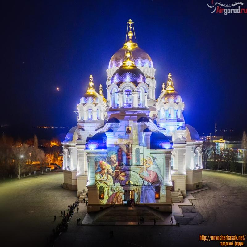 Собор в пасхальную ночь-2015