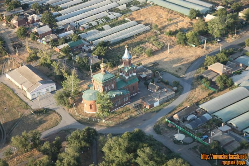 Тихоновская церковь в станице Кривянской