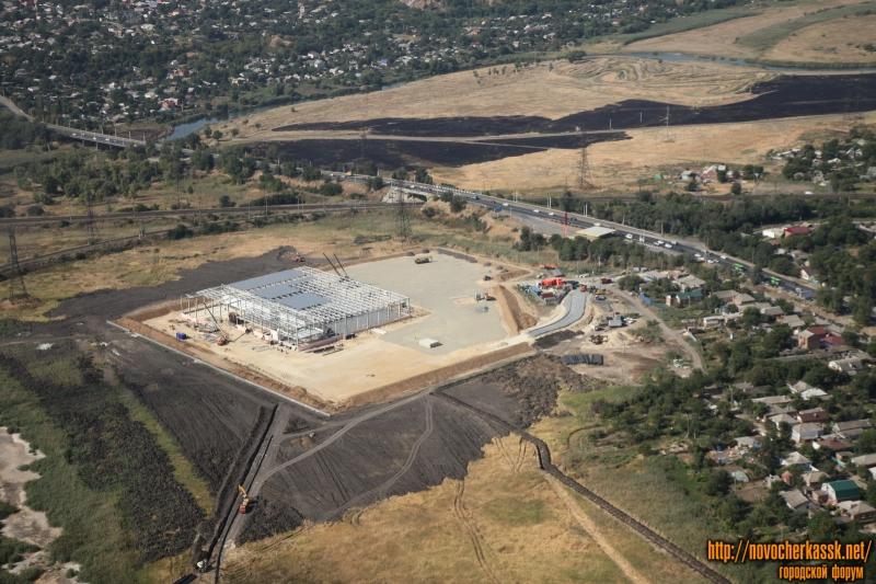 Строительство гипермаркета «Лента», Хотунок