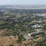 Промзона. Заводы «Эскорт» и «Актис» с самолёта (бывший НЗСП)