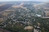 Вид на посёлок Персиановский с самолёта