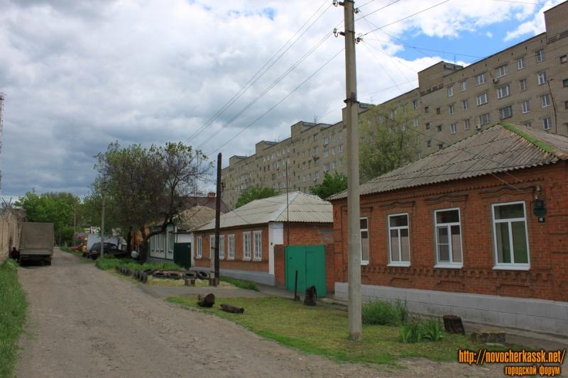 Вид улицы Залесской