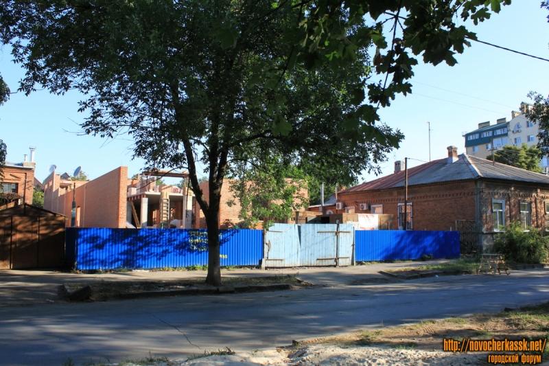 Переулок Кривопустенко, 14. Строительство физкультурно-оздоровительного центра