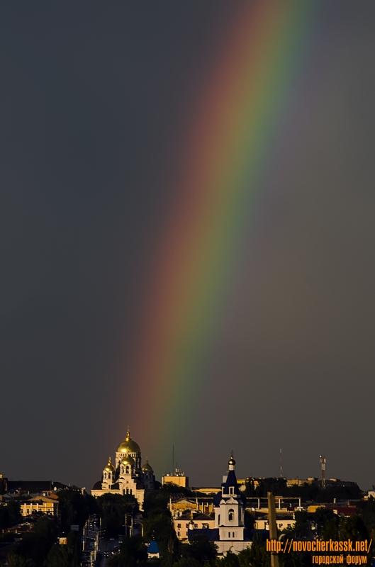 Собор и радуга