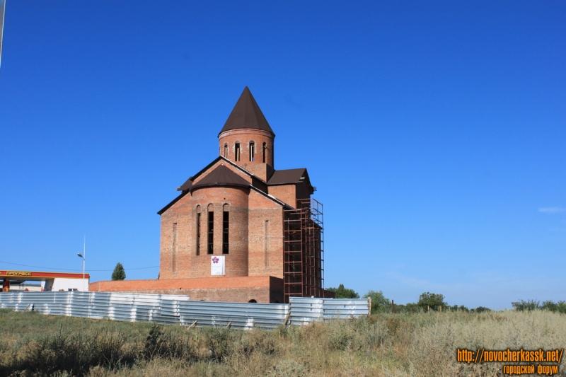 Строительство армянской церкви