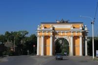 Триумфальная арка на Платовском проспекте