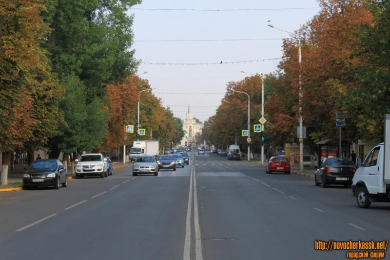 Вид улицы Московской