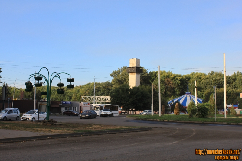 Стадион Ермак и площадь Юбилейная