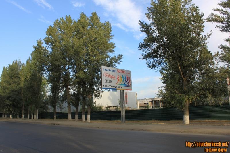 ТЦ-долгострой на проспекте Баклановском