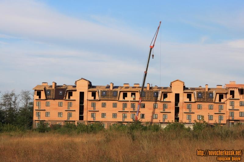 Строительство жилого комплекса «Европейский», ул. Сарматская