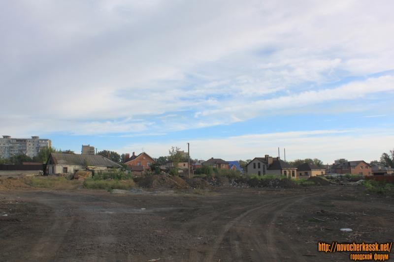 Застройка участка в районе переулка Рощинского