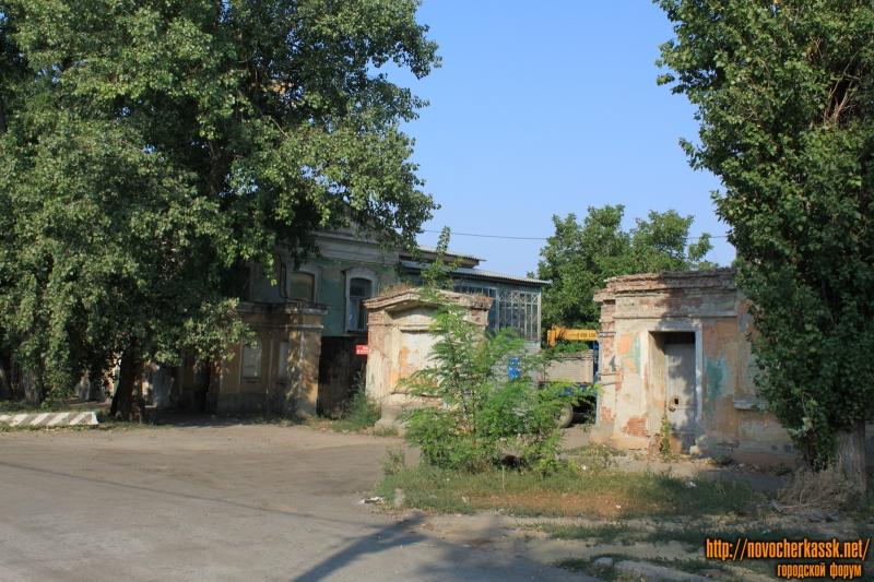 Территория бывшего завода имени Никольского. Улица имени генерала Лебедя