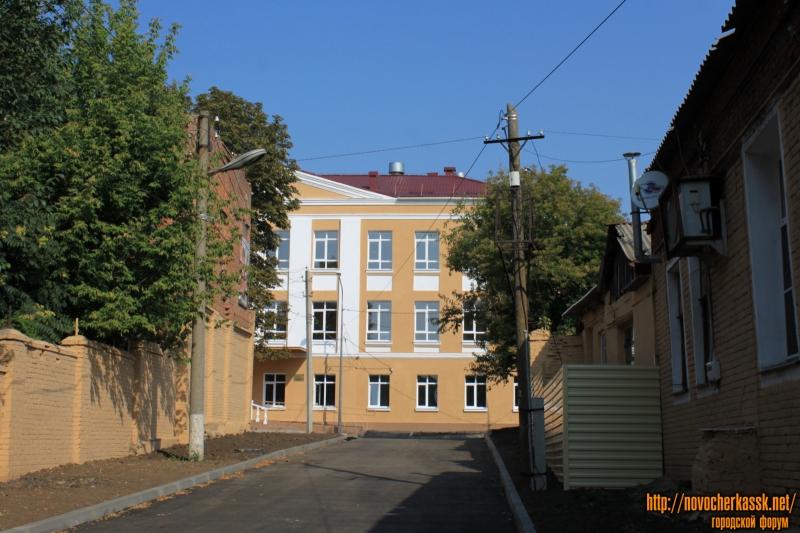 Улица Александровская, 112. Ремонт школы №2