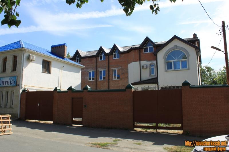 Строительство гостиницы на улице Дубовского, 39