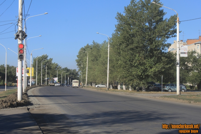 Ремонт проспекта Баклановского
