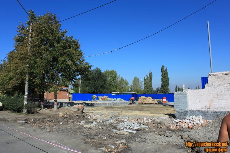 Строительство на Буденновской