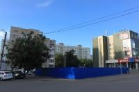 Строительство рядом с ТЦ «Поиск», проспект Баклановский/Ященко