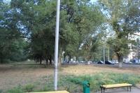 Участок между рощей «Красная весна» и проспектом Баклановским