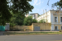 Проспект Ермака. Место, где ранее находилась домовая церковь