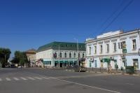 Перекресток Платовского проспекта и улицы Московской