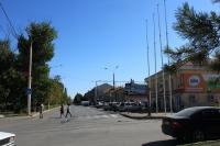 Проспект Платовский. Вид от улицы Орджоникидзе в сторону центра