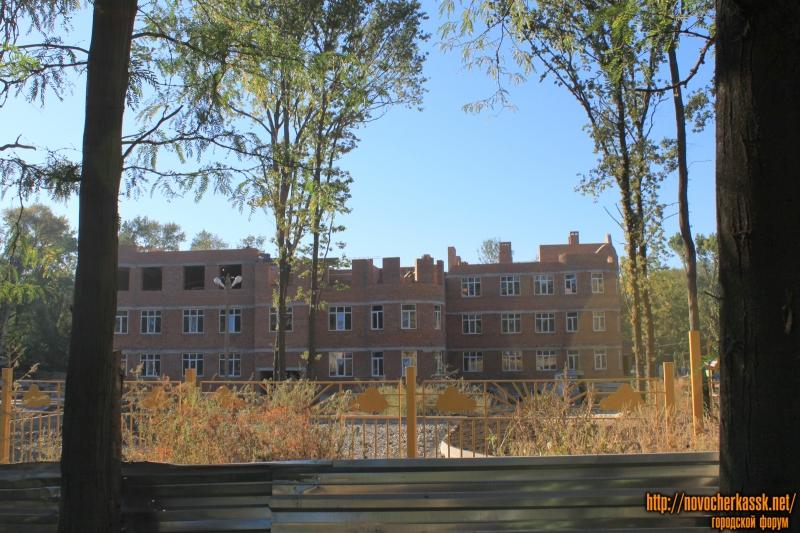 Строительство детского садика в роще (проспект Баклановский)
