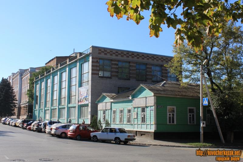 Улица Атаманская, спортивная школа