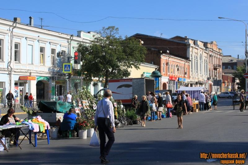 Ярмарка на Платовском проспекте