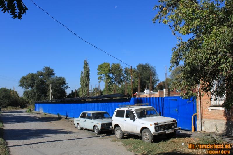 Строительство дома на углу Первомайской и Тургенева