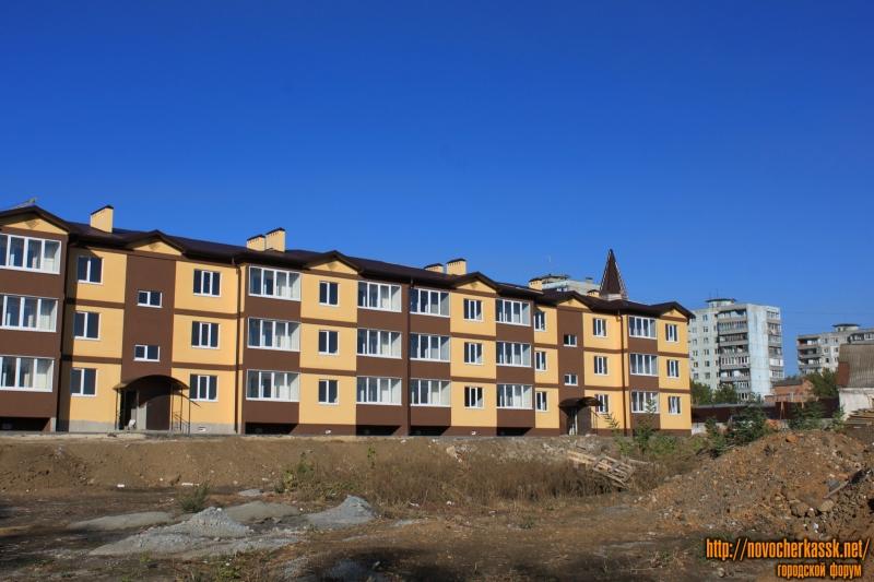 Строительство дома в переулке Рощинском