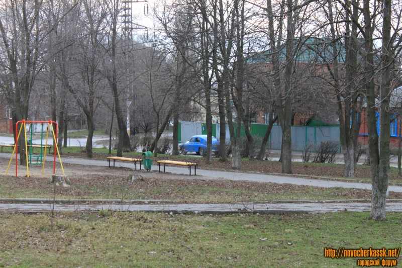 Сквер на площади Чапаева