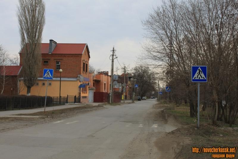 Улица Энгельса. Вид в сторону переулка Галины Петровой
